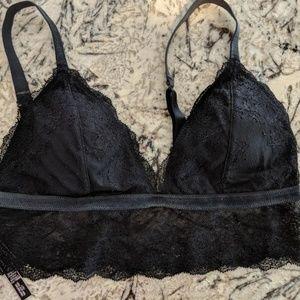 Victoria's Secret Lace Long Line Bralette L